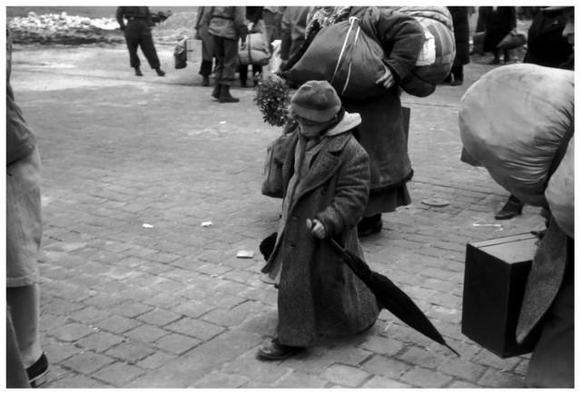 1945, Дессау, Германия. Конец Второй мировой войны. Фотограф Анри Картье-Брессон