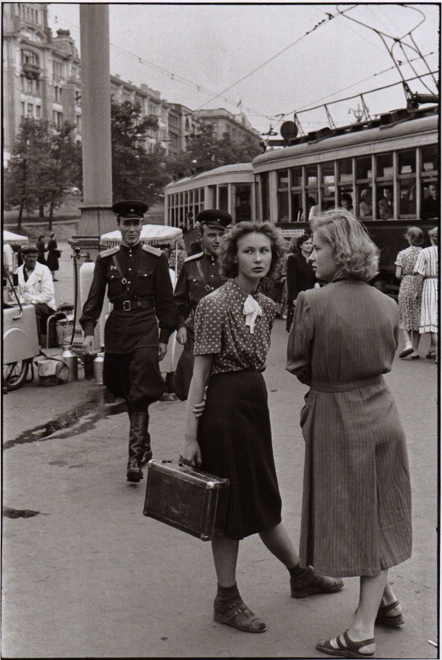 Москва, 1954. Фотограф Анри Картье-Брессон