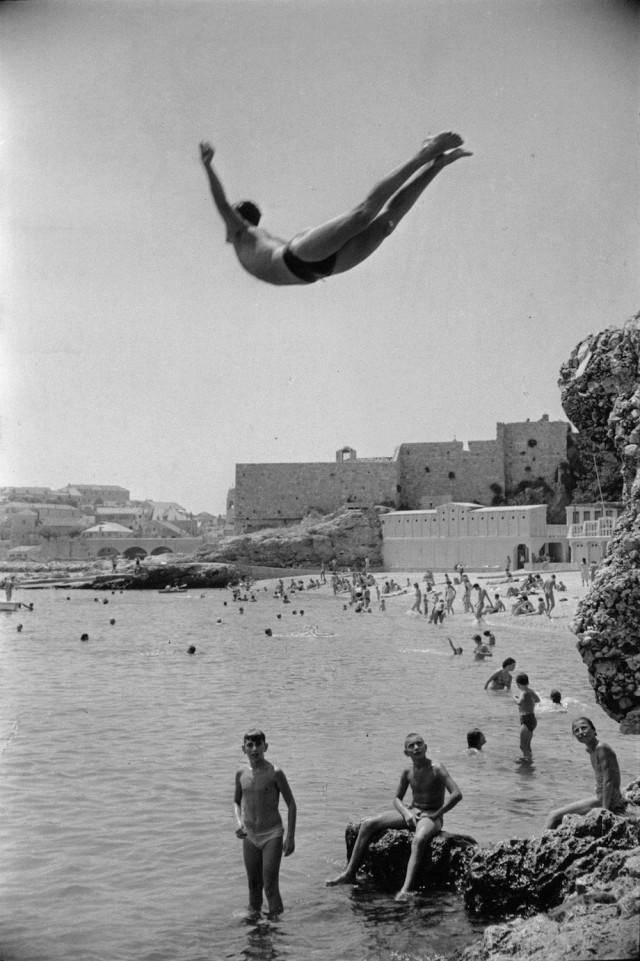 Югославия, 1953. Фотограф Марк Рибу