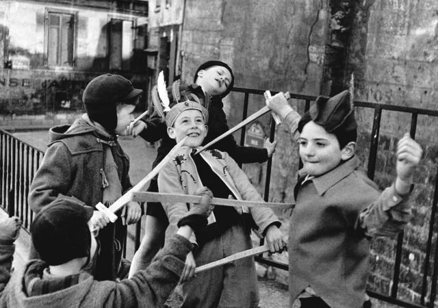 Франция, 1952. Фотограф Эдуард Буба