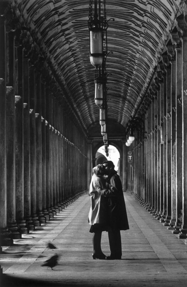 Пьяцца Сан-Марко, Венеция, 1959. Фотограф Джанни Беренго Гардин