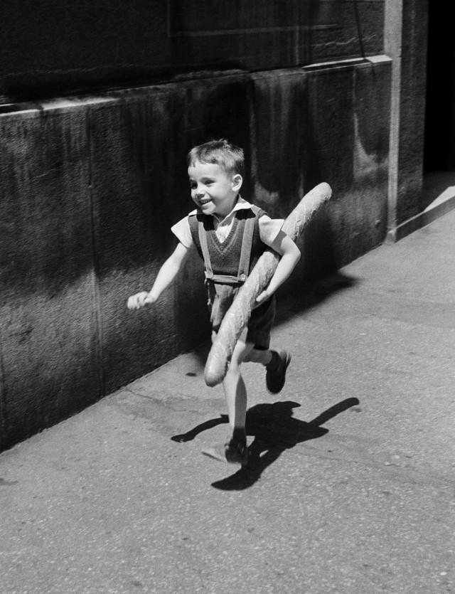 Маленький парижанин, 1952. Фотограф Вилли Ронис