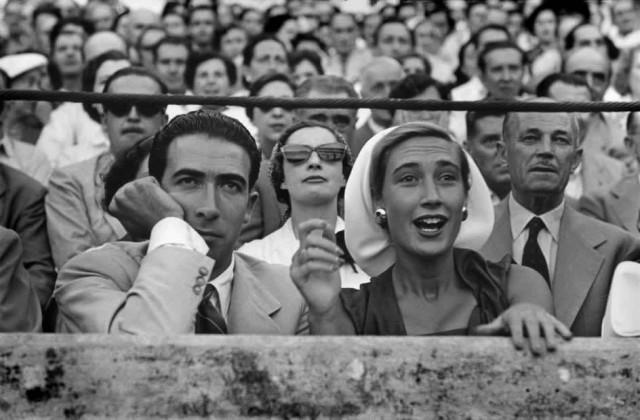 Наварра, Памплона, Сан-Фермин, Испания, 1952. Фотограф Анри Картье-Брессон