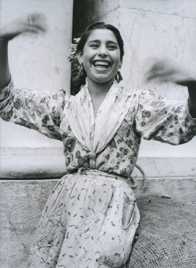 Валанс, Франция, 1954. Фотограф Сабина Вайс