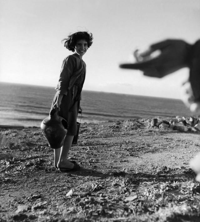 Италия, 1950. Фотограф Вернер Бишоф