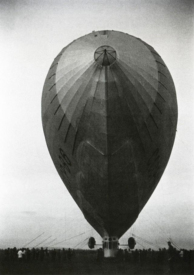 Дирижабль СССР- В6, 1936. Фотограф Иван Шагин