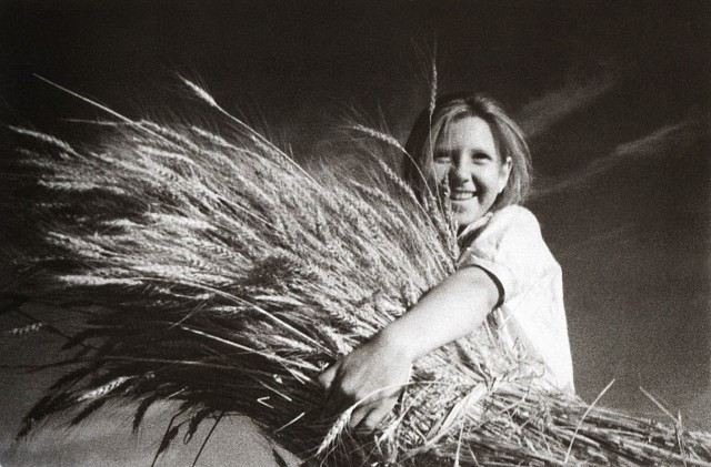 Новый урожай, 1933. Фотограф Иван Шагин