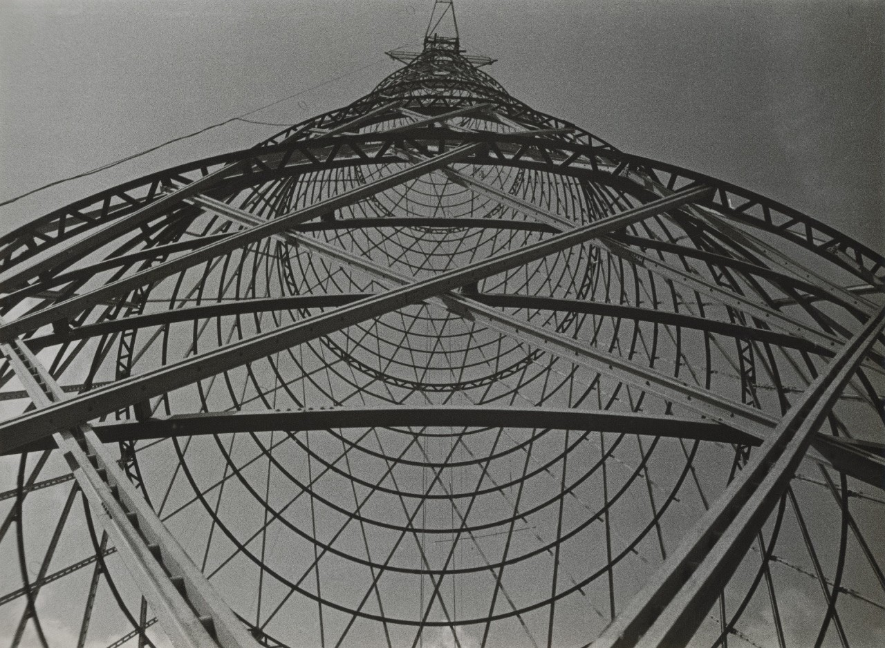 Шуховская башня, 1929. Фотограф Александр Родченко