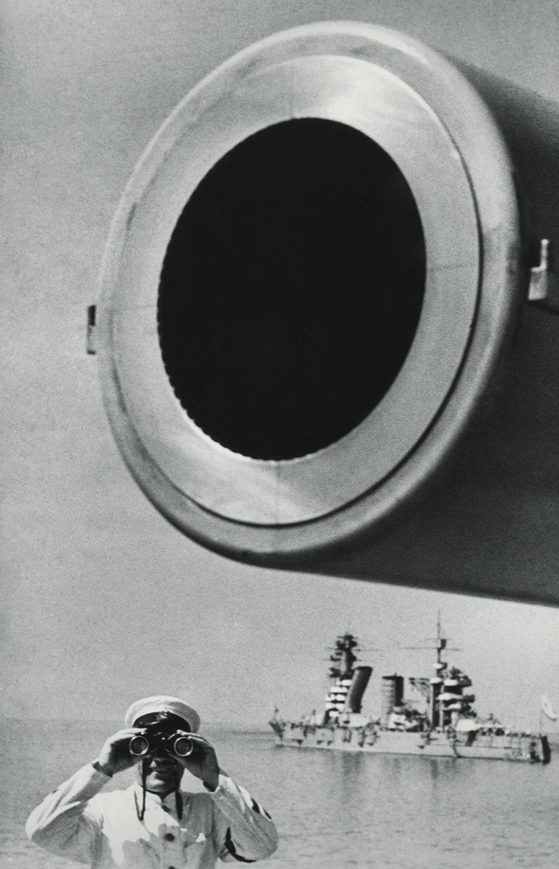 В дозоре, 1936. Фотограф Яков Халип