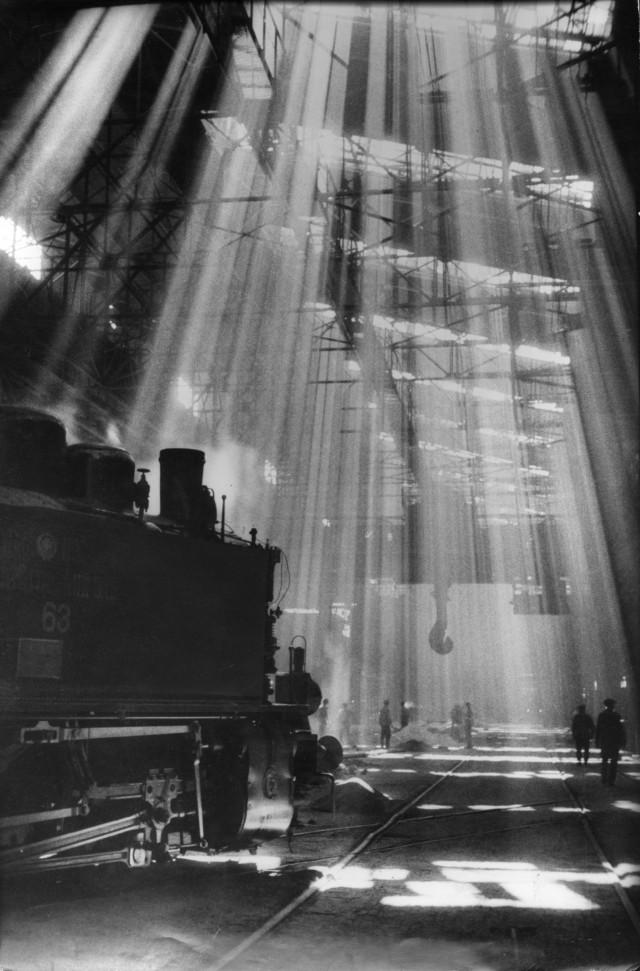 На стройках первой пятилетки, 1932. Фотограф Анатолий Скурихин