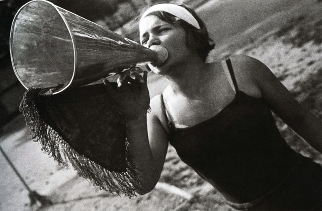 Пионервожатая, 1934. Фотограф Иван Шагин