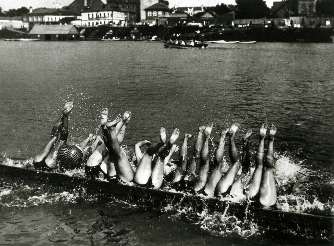 Купальщицы, 1928. Фотограф Борис Игнатович