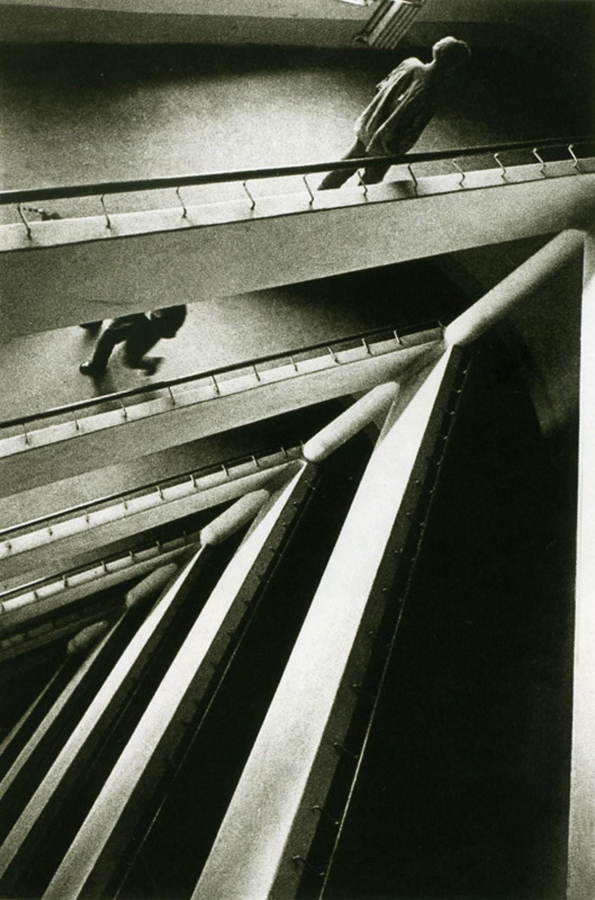 Этажи, 1933. Фотограф Борис Игнатович