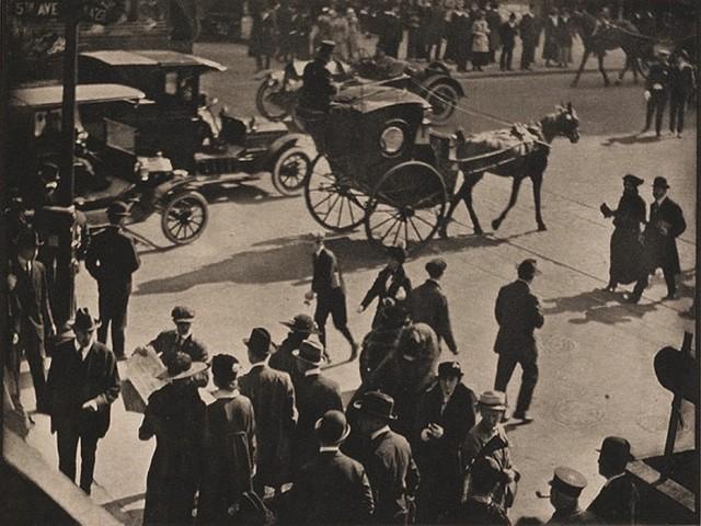Нью-Йорк, 1916. Фотограф Пол Стренд