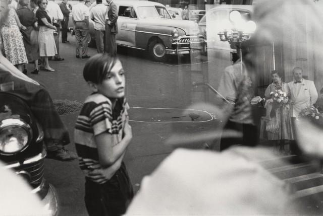 Несчастный случай, Нью-Йорк, 1949. Фотограф Луи Фаурер