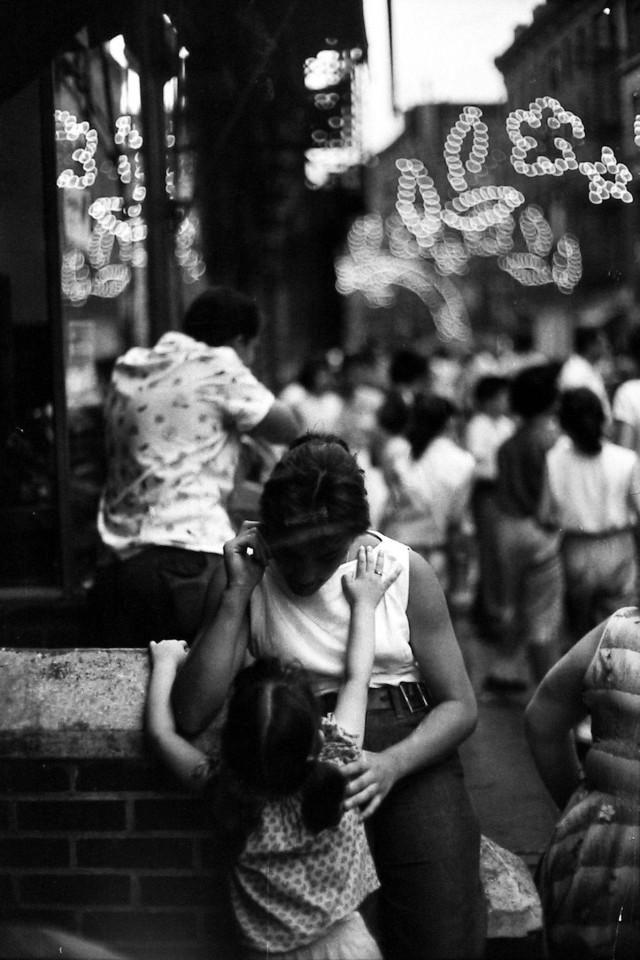 Нижний Ист-Сайд, 1957. Фотограф Брюс Дэвидсон