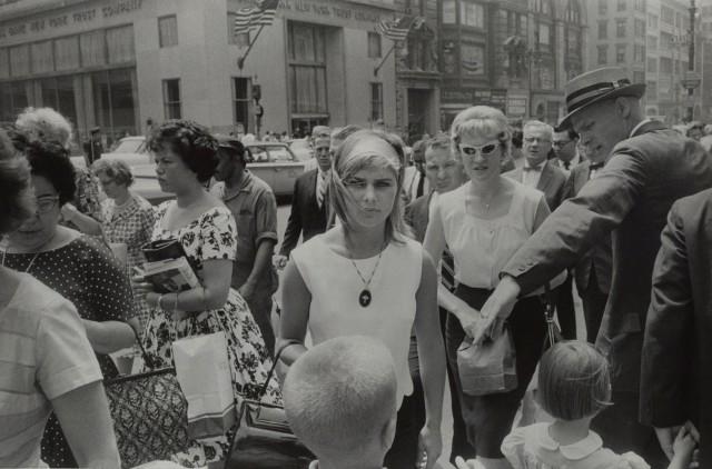 Нью-Йорк, 1961. Фотограф Гарри Виногранд