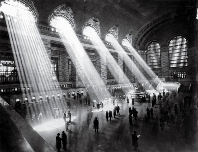 Центральный вокзал, старейший и известнейший вокзал Нью-Йорка, 1929. Фотограф Альфред Стиглиц (предположительно)