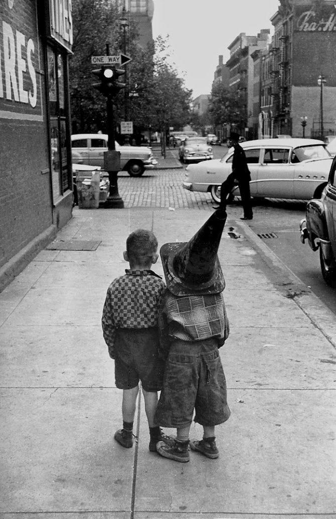 Нью-Йорк, 1955. Фотограф Джордж С. Зимбель
