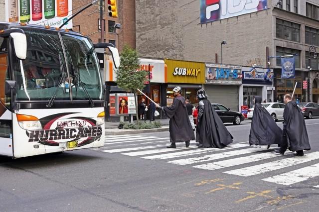 «Дуэль на Восьмой авеню». Фотограф Рич Дохерти