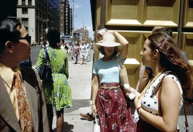 Мэдисон-авеню, Нью-Йорк, 1974. Фотограф Джоэл Мейеровиц