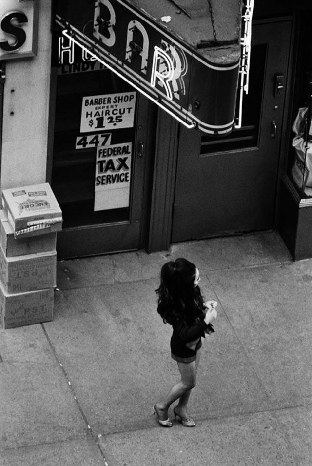 «Древнейшая профессия». Нью-Йорк, 1971. Фотограф Берт Глинн