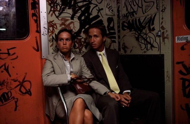 Метро, Нью-Йорк, 1980-е. Фотограф Брюс Дэвидсон