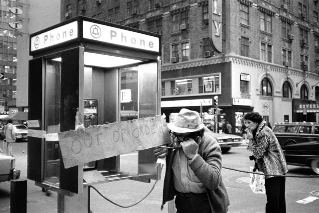 На углу 50-й улицы и Лексингтон-авеню. Нью-Йорк, 1980. Фотограф Кэрри Боретц
