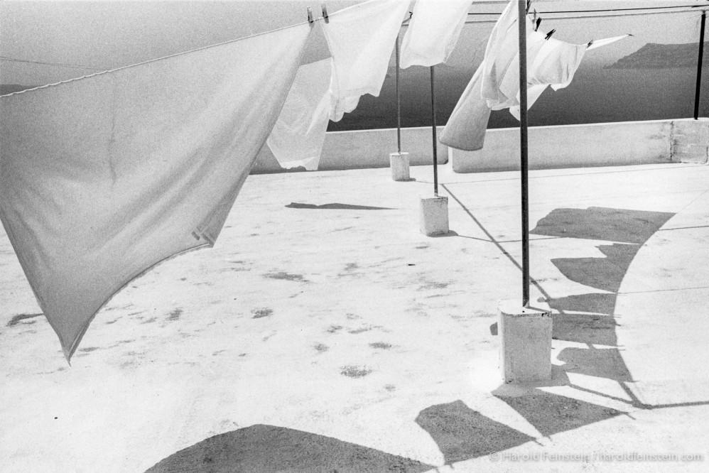 Прачечная на крыше, 1987. Фотограф Гарольд Файнштейн