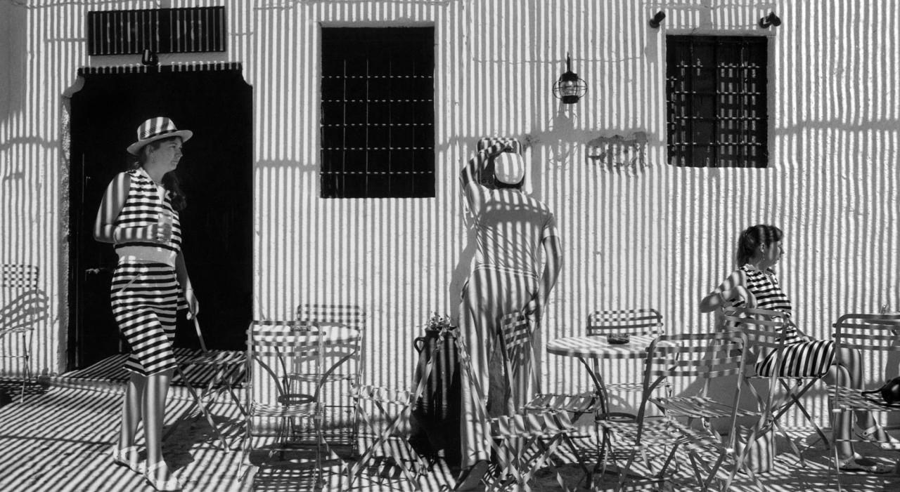 Полосы и тени, 1988. Фотограф Гарольд Файнштейн