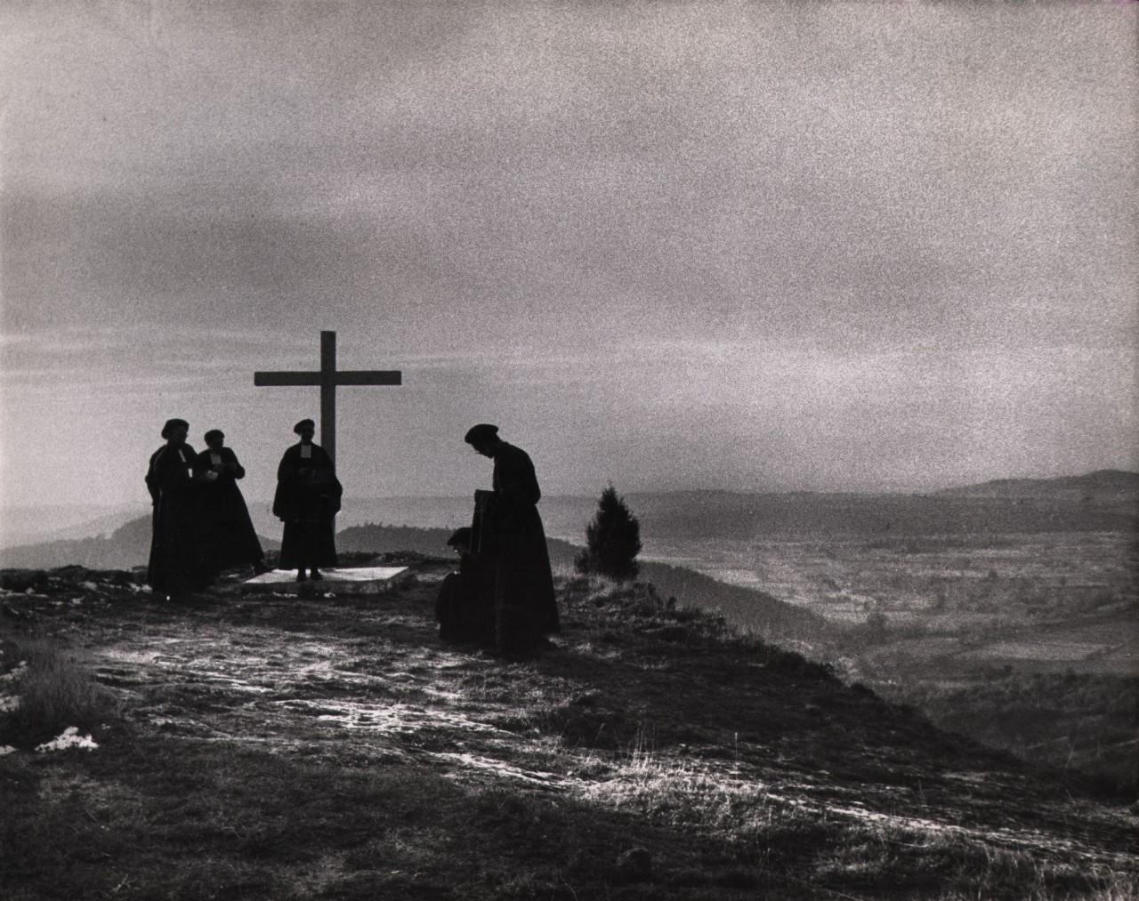 Франция, 1956.  Фотограф Сабина Вайс