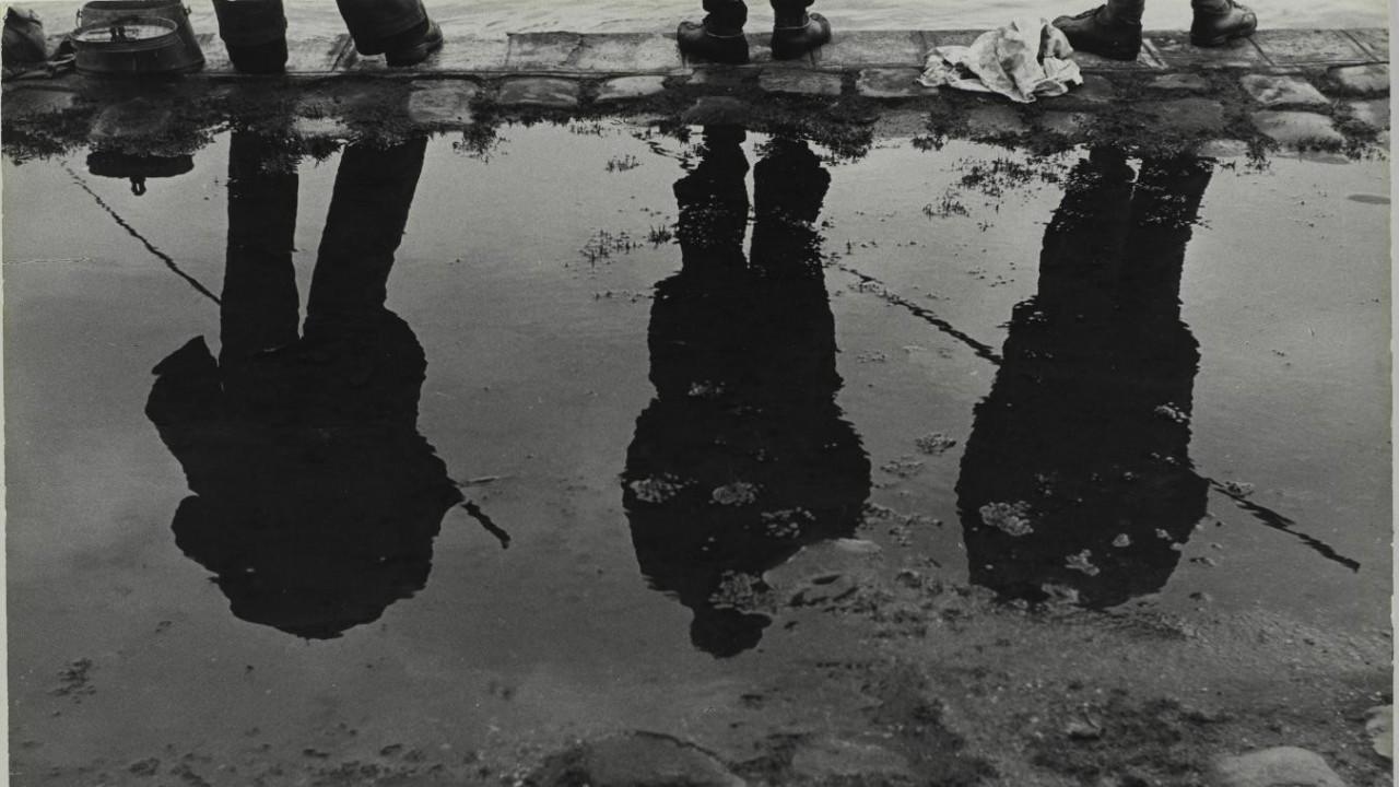 Тени и отражения берегов Сены, 1952. Фотограф Сабина Вайс
