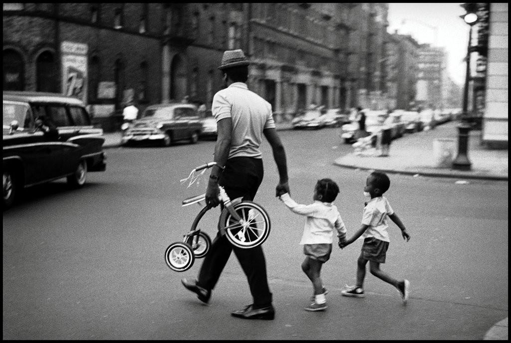 Гарлем, Нью-Йорк, 1963. Фотограф Леонард Фрид