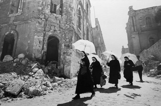 После шестидневной войны, Иерусалим, 1967. Фотограф Леонард Фрид