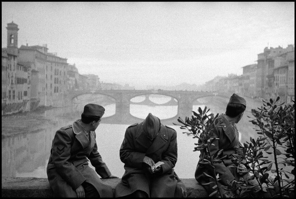 Флоренция, Италия, 1958. Фотограф Леонард Фрид
