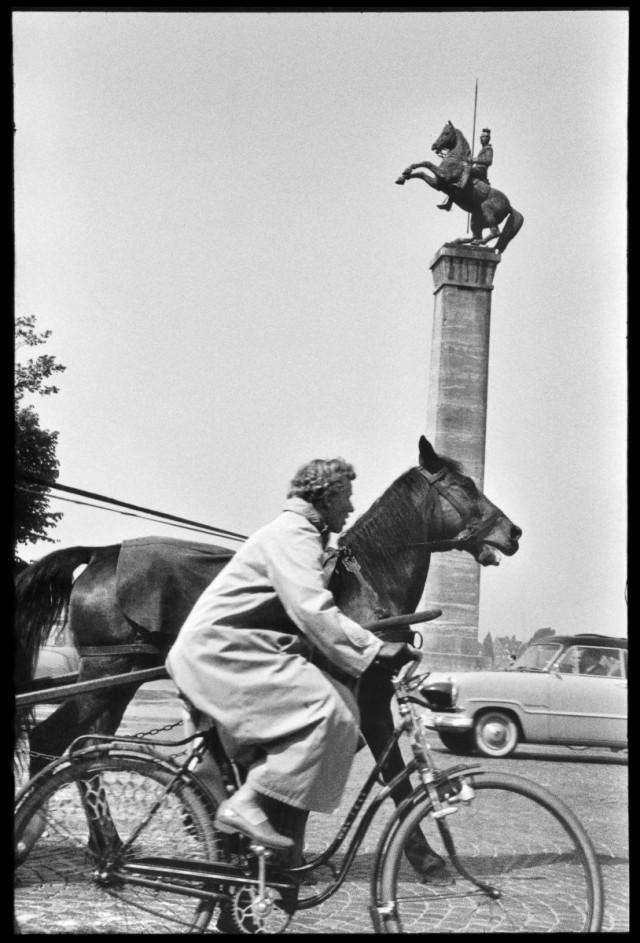 Дюссельдорф, 1957. Фотограф Леонард Фрид