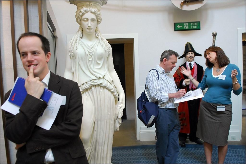 «Музей Банка Англии». Фотограф Нильс Йоргенсен