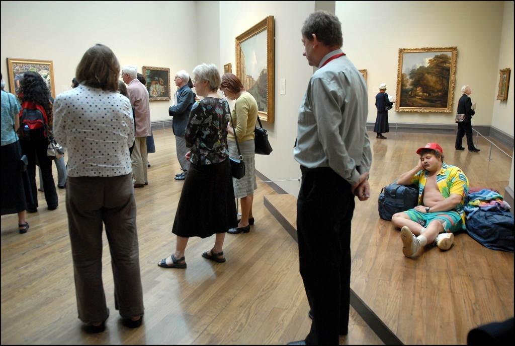 «Однажды в музее». Фотограф Нильс Йоргенсен