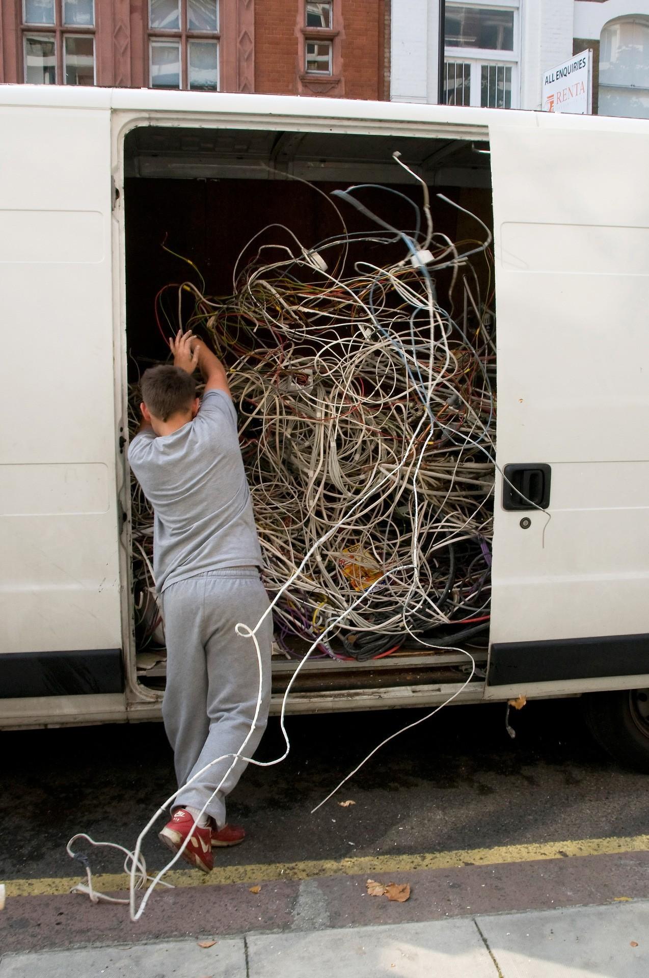 «Провода». Фотограф Нильс Йоргенсен
