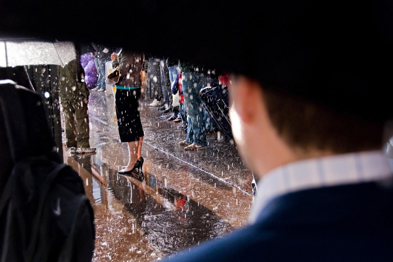 «Дождь». Фотограф Нильс Йоргенсен