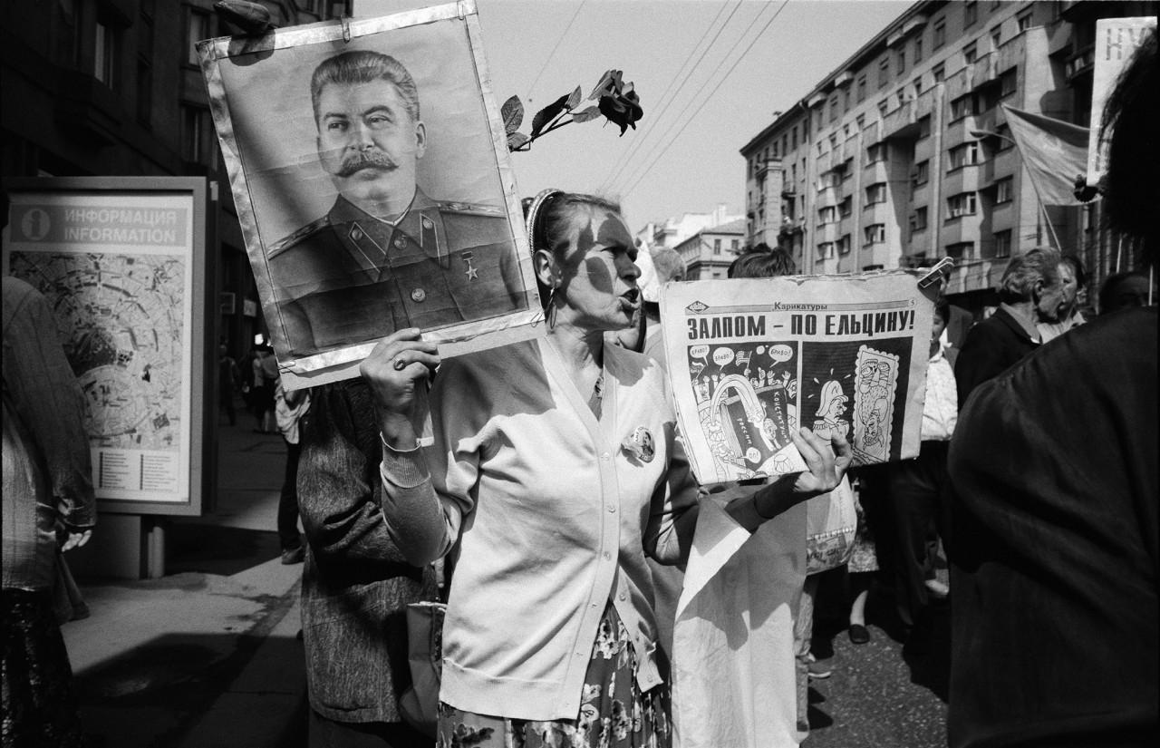 9 мая, Тверская улица, Москва, 1996.