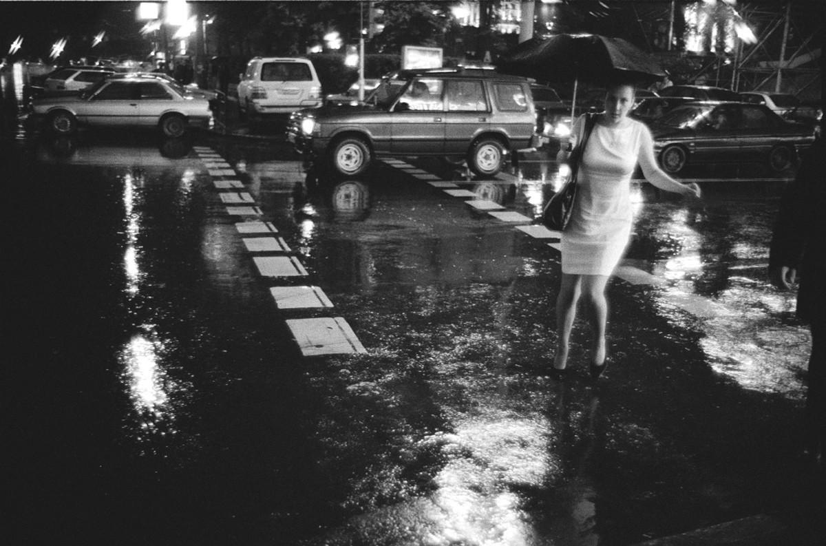 Дождь, Москва, 2000.
