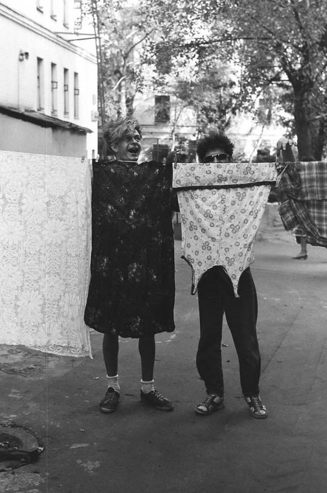 Москва, 1985. Из проекта «Я видел рок-н-ролл». Фотограф Игорь Мухин
