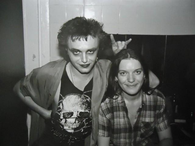 Олеся Троянская, Вильнюс, 1988. Фотограф Игорь Мухин