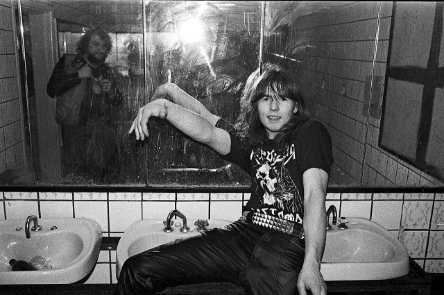 Паук, 1986. Фотограф Игорь Мухин