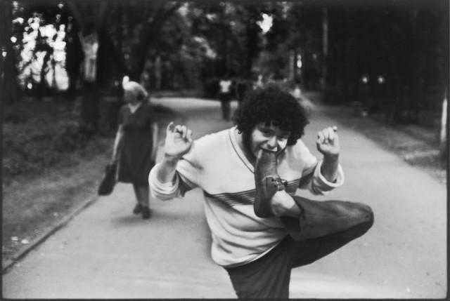 «Гибкость». Москва, 1987. Фотограф Игорь Мухин