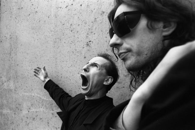 «Мамонов и Алексей». Москва, 1990. Фотограф Игорь Мухин