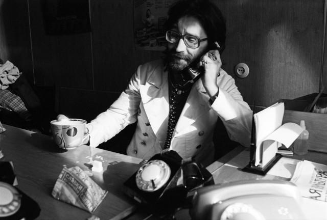 Юрий Шевчук, концерт «ДДТ» на фирме «Мелодия». Москва, 1987. Фотограф Игорь Мухин