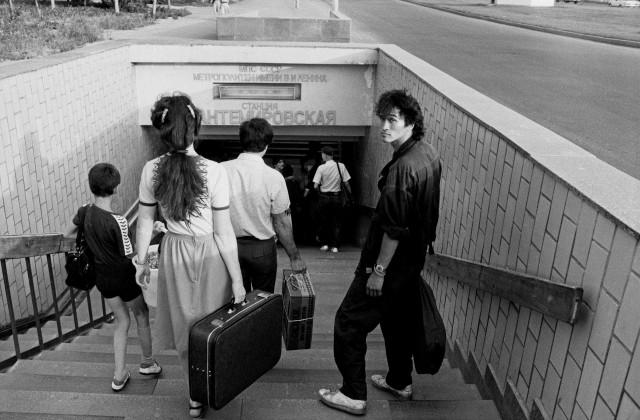«Метрополитен». Виктор Цой, Москва, 1986. Фотограф Игорь Мухин