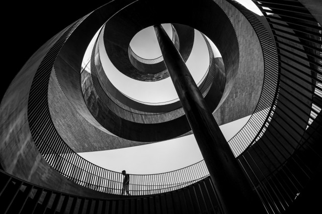 1-е место в категории «Архитектура» среди любителей, 2020. «Спираль». Автор Вэй Цзянь Чан